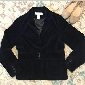 🔥 3/$30 Jones NY Velour Jacket